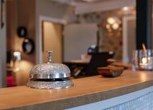 Rocznika hotelu dzwon zdjęcie royalty free