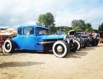 Rocznika Hotrod samochody fotografia stock
