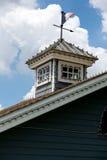 Rocznika housetop zdjęcia stock