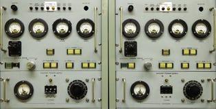 Rocznika instrumentu panel Obrazy Stock