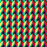 Rocznika jaskrawego koloru bezszwowa tekstura Fotografia Stock