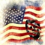Rocznika John F. Kennedy tło Fotografia Stock
