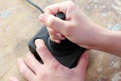 Rocznika joystick Fotografia Stock