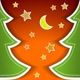 Rocznika kartka z pozdrowieniami Zdjęcia Stock