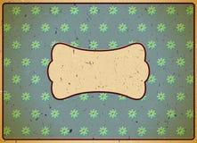 Rocznika kartonu rama Zdjęcie Royalty Free