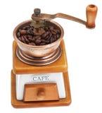 Rocznika kawowy młyn Fotografia Royalty Free