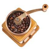 Rocznika kawowy młyn Fotografia Stock