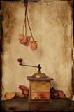 Rocznika kawowy ostrzarz Obrazy Royalty Free