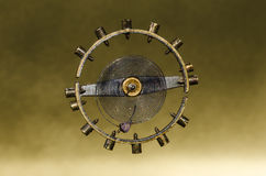 Rocznika Kieszeniowego zegarka Hairspring Zawieszający w w powietrzu Obrazy Royalty Free