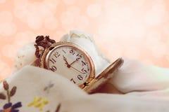 Rocznika kieszeniowy zegarek Zdjęcie Royalty Free