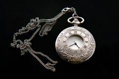 Rocznika kieszeniowy zegarek fotografia royalty free