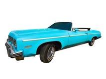 Rocznika Klasyczny samochód Odizolowywający zdjęcia royalty free