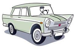 Rocznika klasyka samochód royalty ilustracja