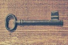 Rocznika klucz Obrazy Royalty Free