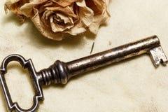 Rocznika klucz Obrazy Stock