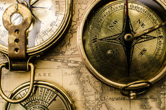 Rocznika kompas Obrazy Royalty Free