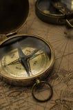 Rocznika kompas Obrazy Stock