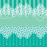 Rocznika koronkowy bezszwowy ornament Zdjęcie Royalty Free