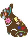 Rocznika królik Obraz Royalty Free