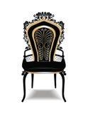 Rocznika krzesła Barokowy Złoty meble Zdjęcia Stock