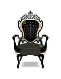 Rocznika krzesła Barokowy Złoty meble Zdjęcie Royalty Free