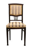Rocznika krzesło odizolowywający na biały background Fotografia Royalty Free