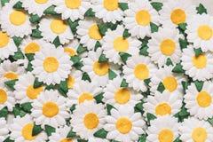 Rocznika kwiat robić papierem dla tła obrazy royalty free