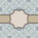 Rocznika kwiatu ramy wektorowy projekt Royalty Ilustracja