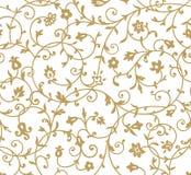 Rocznika kwiecisty wzór Obraz Royalty Free