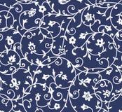 Rocznika kwiecisty wzór Zdjęcie Royalty Free