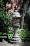 Rocznika lamppost Zdjęcie Stock