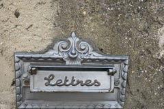 Rocznika listowy pudełko Zdjęcie Royalty Free
