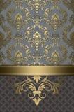 Rocznika luksusu tło royalty ilustracja