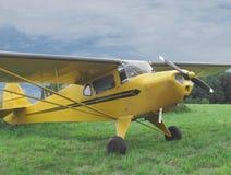 Rocznika mały intymny samolot Fotografia Stock