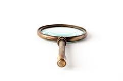 Rocznika magnifier Obrazy Royalty Free