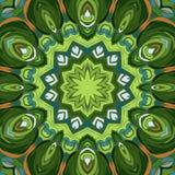 Rocznika mandala bezszwowy deseniowy ornament Obrazy Royalty Free