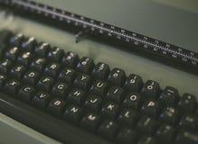 Rocznika maszyna do pisania klawiatura Zdjęcie Royalty Free