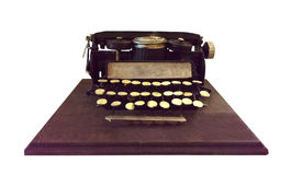 Rocznika maszyna do pisania model Zdjęcia Royalty Free