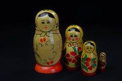 Rocznika Matryoshka lala 2 Fotografia Stock