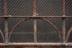 Rocznika metalu ośniedziały grille Zdjęcie Royalty Free