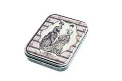 Rocznika metalu pudełko Zdjęcie Stock