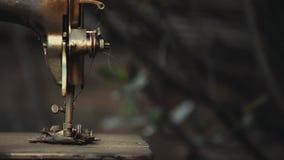 Rocznika metalu szwalnej maszyny lata ogród zbiory