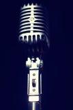 Rocznika mikrofon obraz royalty free