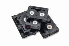Rocznika 8mm wideo kaseta lub mini taśma na białym tle Zdjęcie Stock