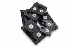 Rocznika 8mm wideo kaseta lub mini taśma na białym tle Obraz Royalty Free