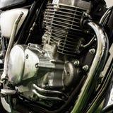 Rocznika motocykl fotografia royalty free
