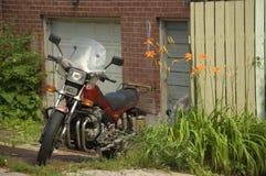 Rocznika motocykl Obraz Stock
