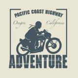 Rocznika motocykl Abel Obrazy Royalty Free