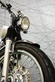 Rocznika motocyklu abstrakta linii clippingpath i tło Fotografia Stock