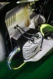 Rocznika motocyklu boksera silnik obraz stock